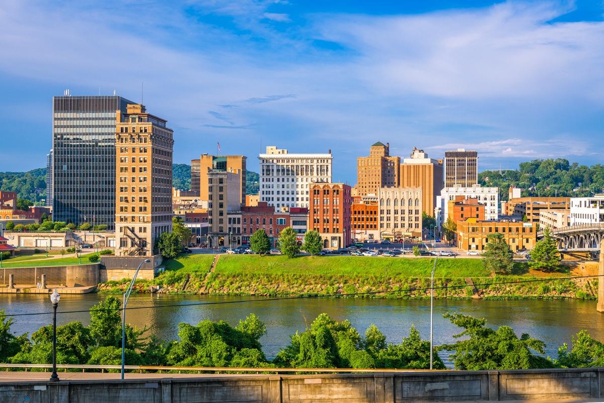 cityscape photo of Charleston, West Virginia