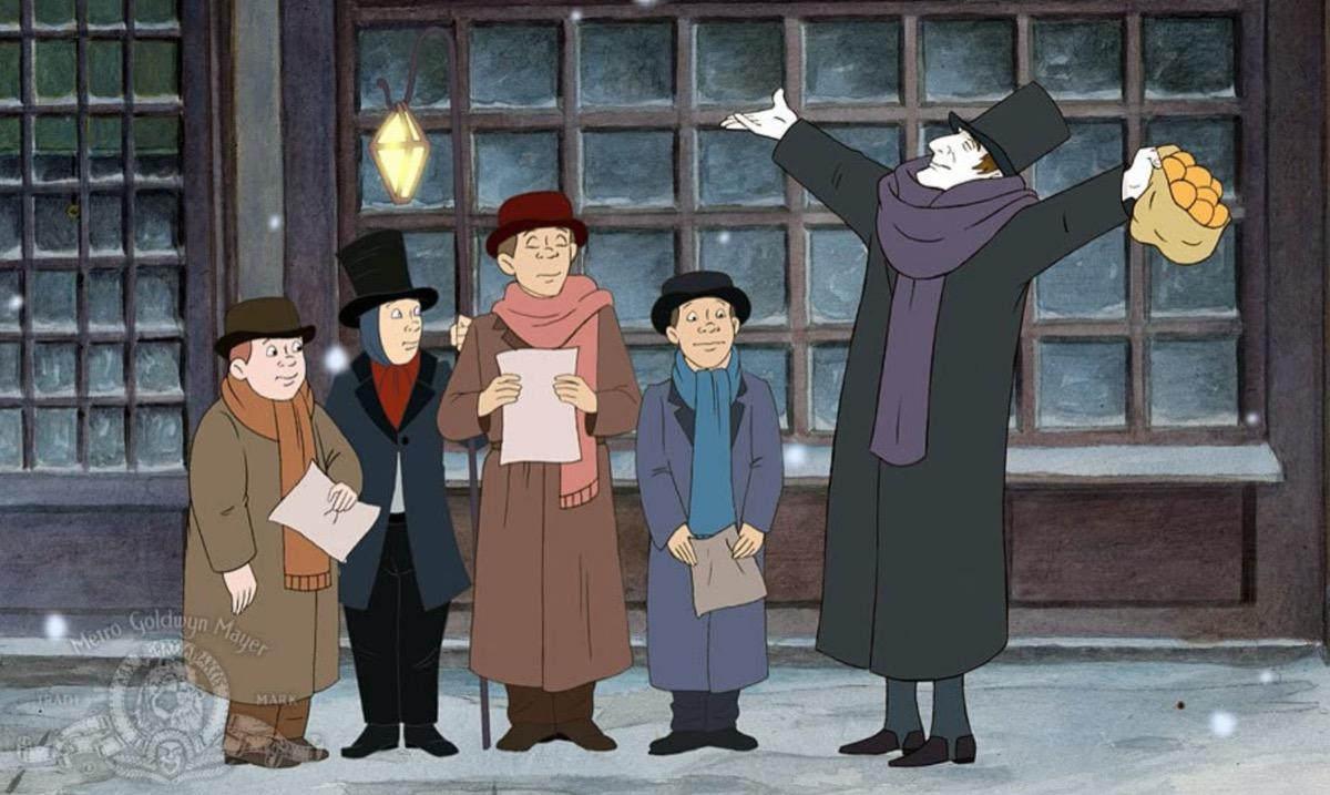 animated christmas carol movie