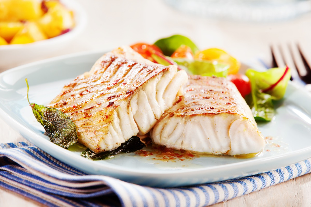cooked white fish