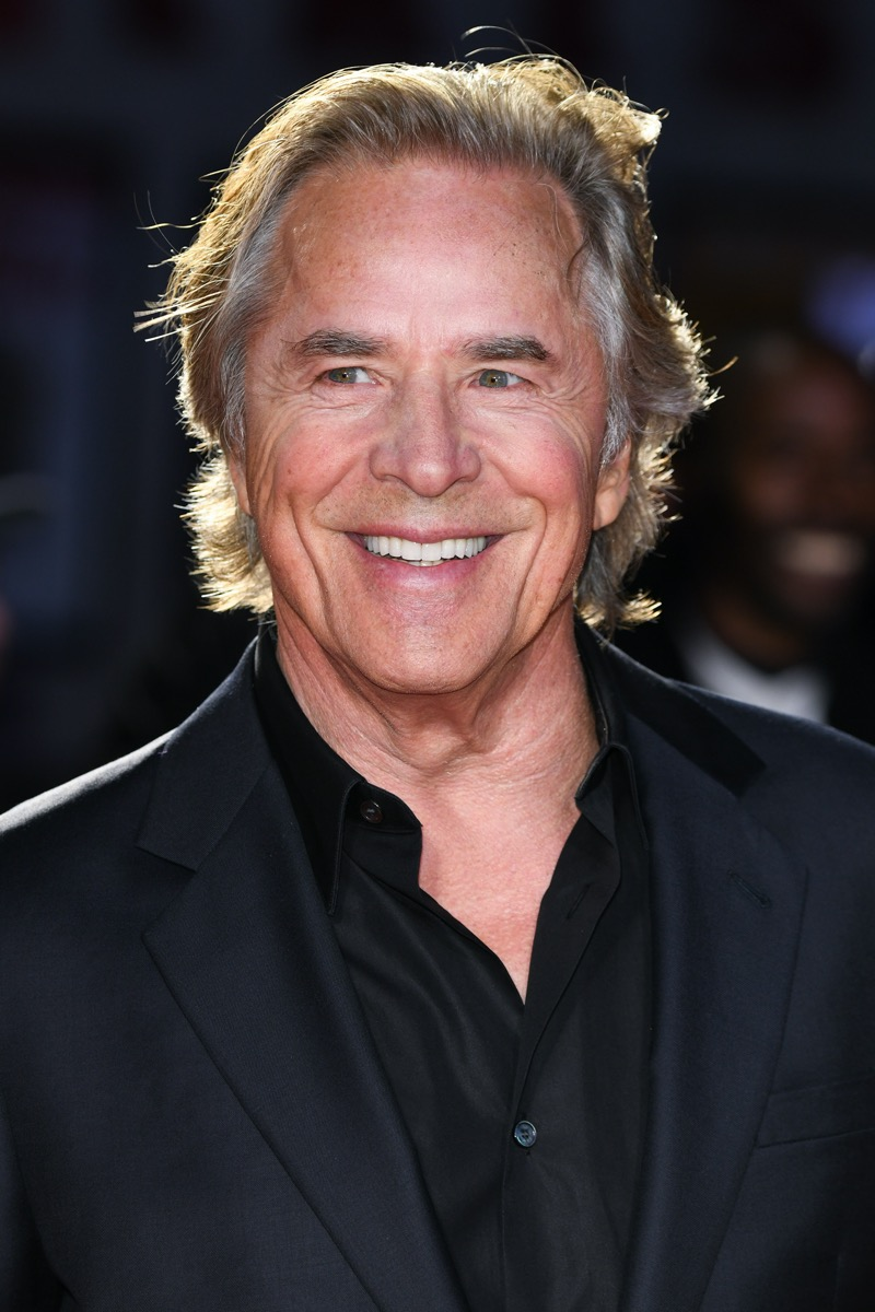 Don Johnson at the London Film Festival in 2019