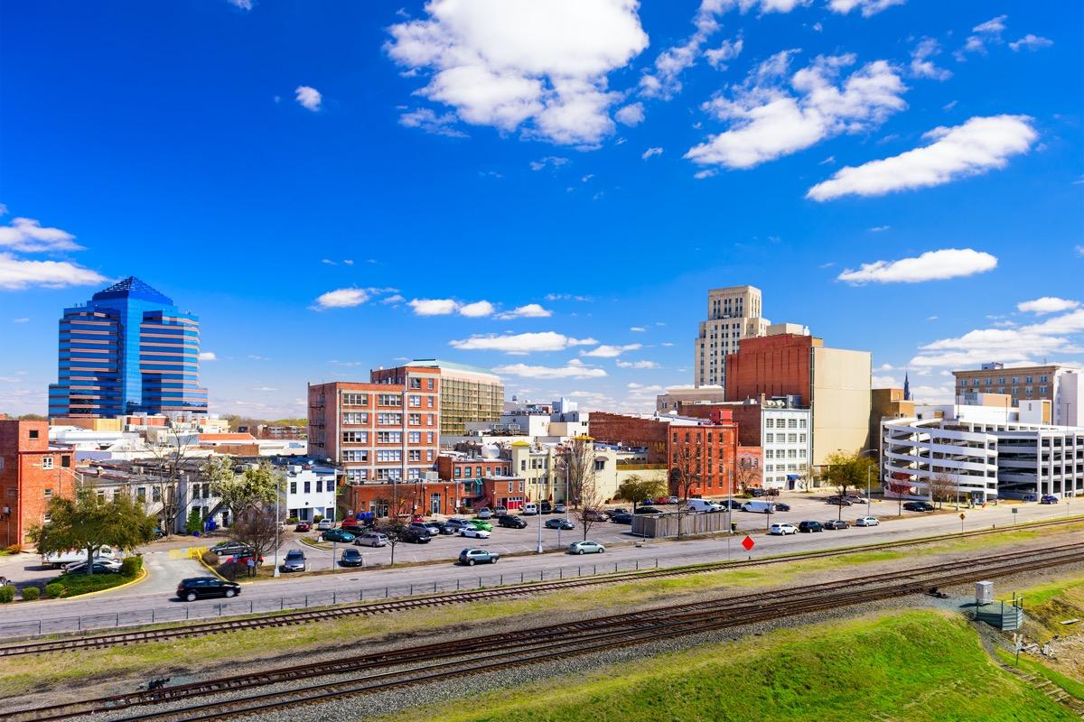 cityscape photo of Durham, North Carolina