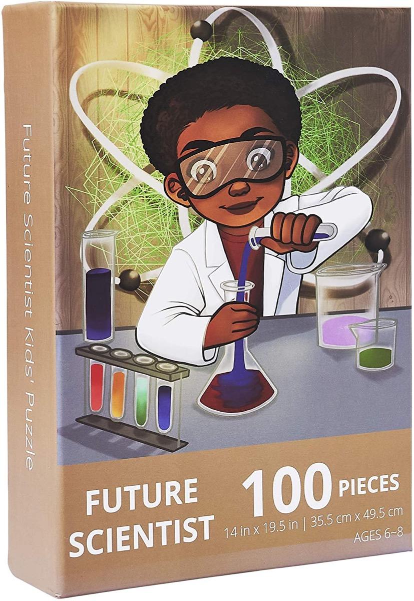 future scientist puzzle