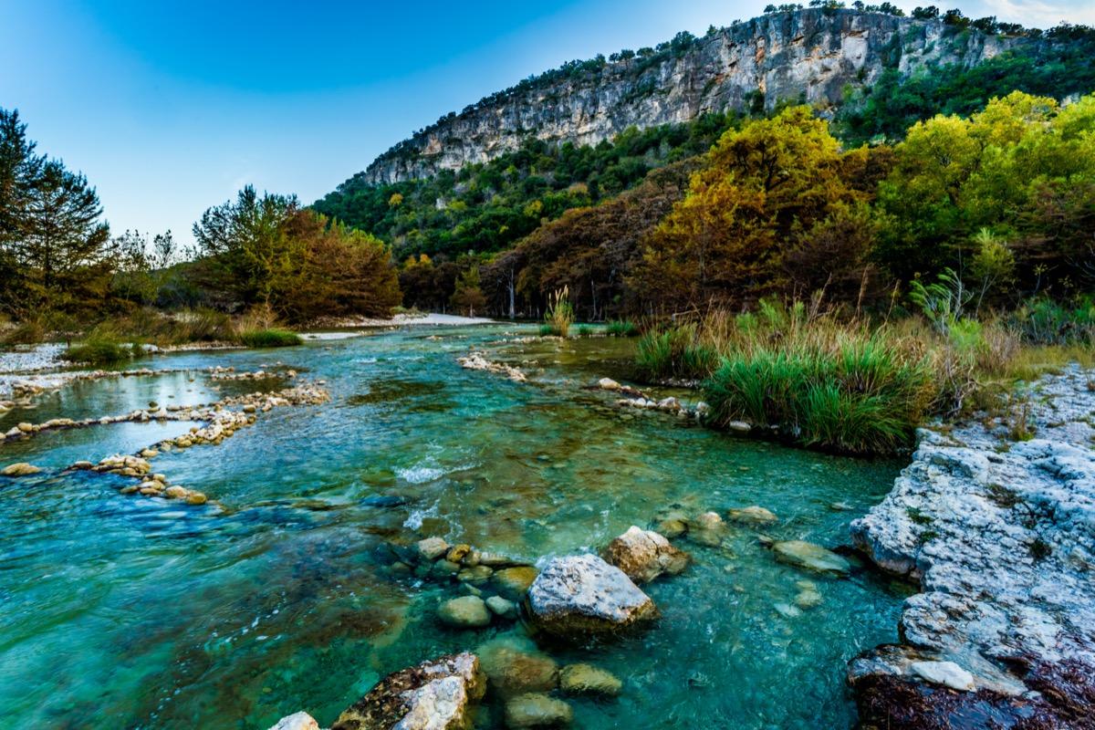 landscape photo of Garner State Park, Texas