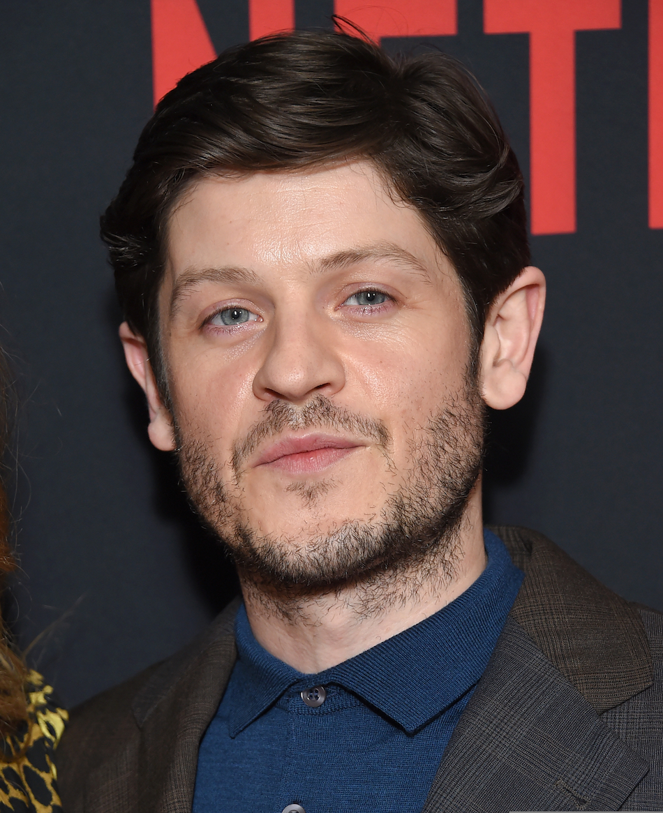 Iwan Rheon arrives for the Netflix 'The Dirt' Premiere on March 18, 2019 in Hollywood, CA