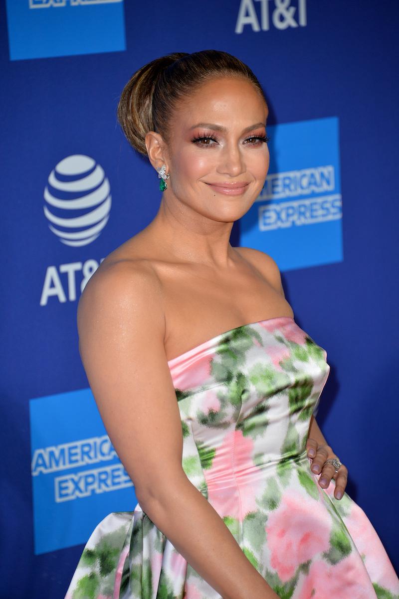 Jennifer Lopez at the 2020 Palm Springs International Film Festival Film Awards Gala