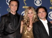 Kaley Cuoco on love scenes with ex Johnny Galecki