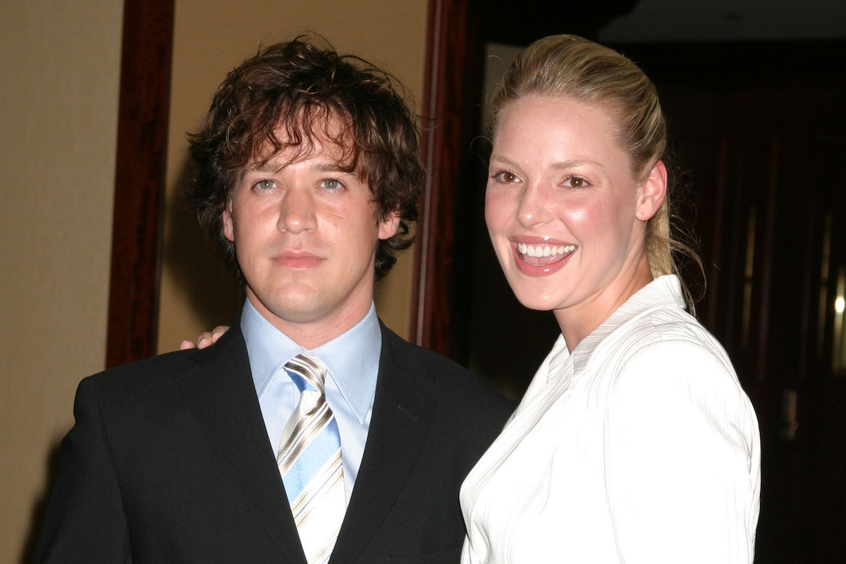 TR Knight, Katherine Heigl arriving at Project ALS Benefit event at Century Plaza Hotel May 06, 2005 in Century City, CA.