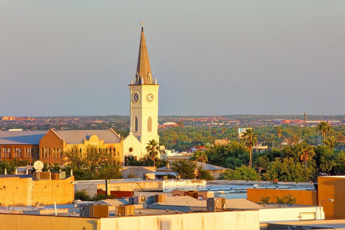 cityscape photo of Laredo, Texas