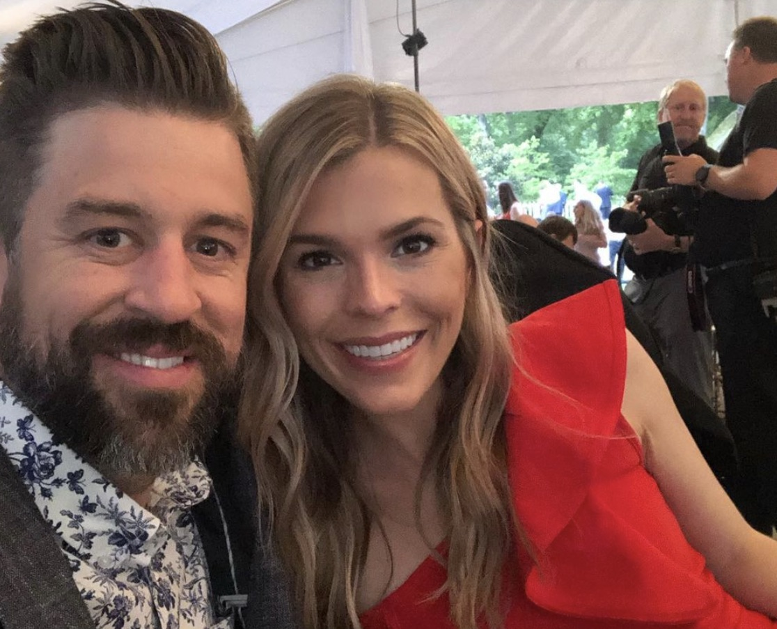 Luke Rogers and wife Aimee Rogers