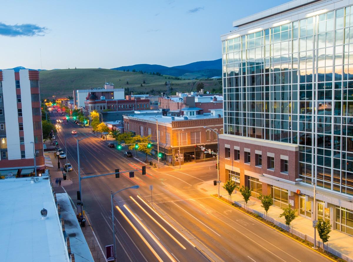 cityscape photo of Missoula, Montana