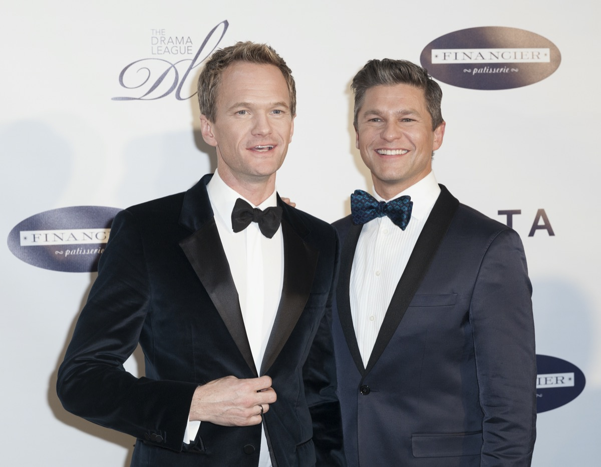 Neil Patrick Harris and David Burtka at the Musical Celebration of Broadway honoring Neil Patrick Harris in 2014