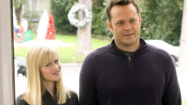 reese witherspoon and vince vaughn in four christmases still