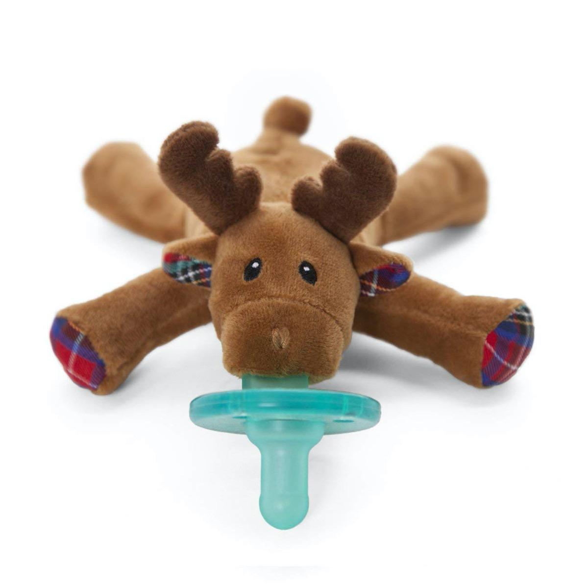 reindeer toy pacifier