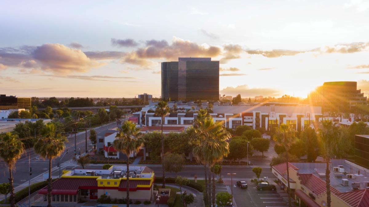 cityscape photo of downtown Santa Ana, California
