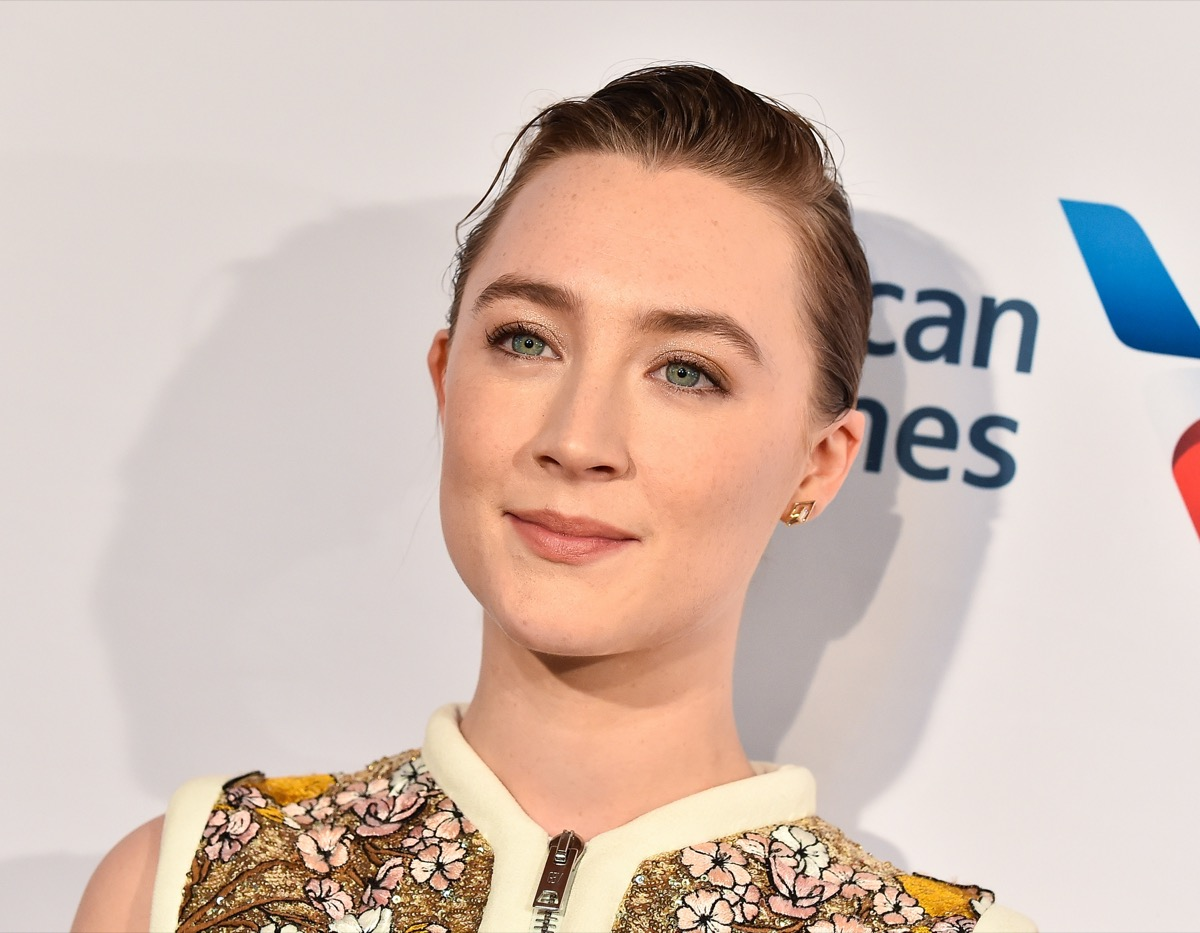Saoirse Ronan at the BAFTA Los Angeles Tea Party in 2020