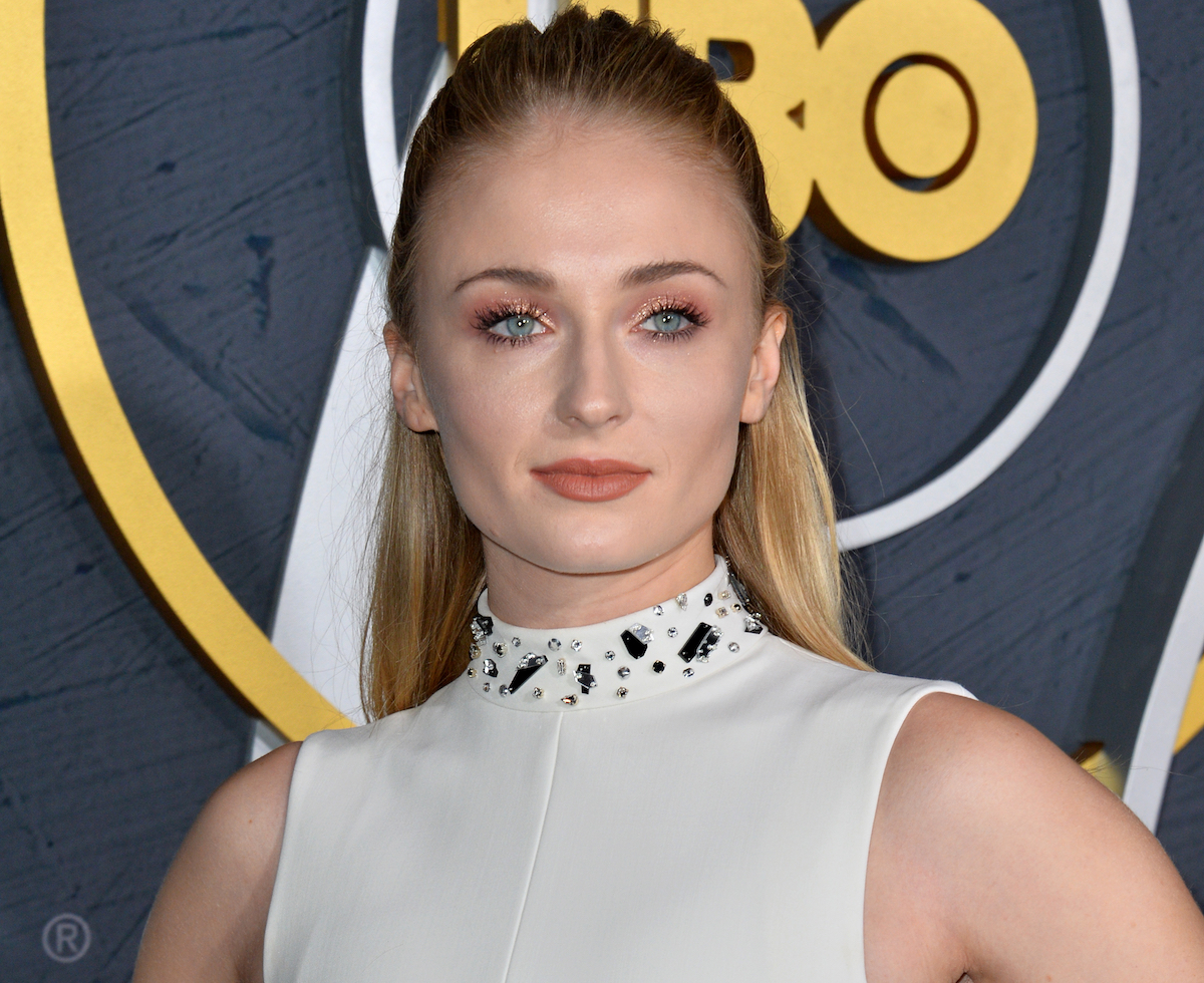 Sophie Turner at the HBO post-Emmy Party at the Pacific Design Centre in Sept. 2019