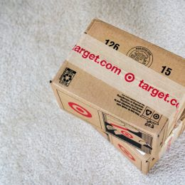 cardboard boxes from target