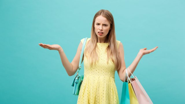Angry retail shopper after bad customer service