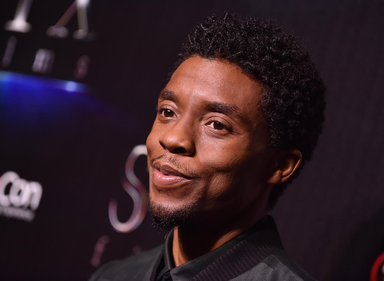 Chadwick Boseman at CinemaCon 2019