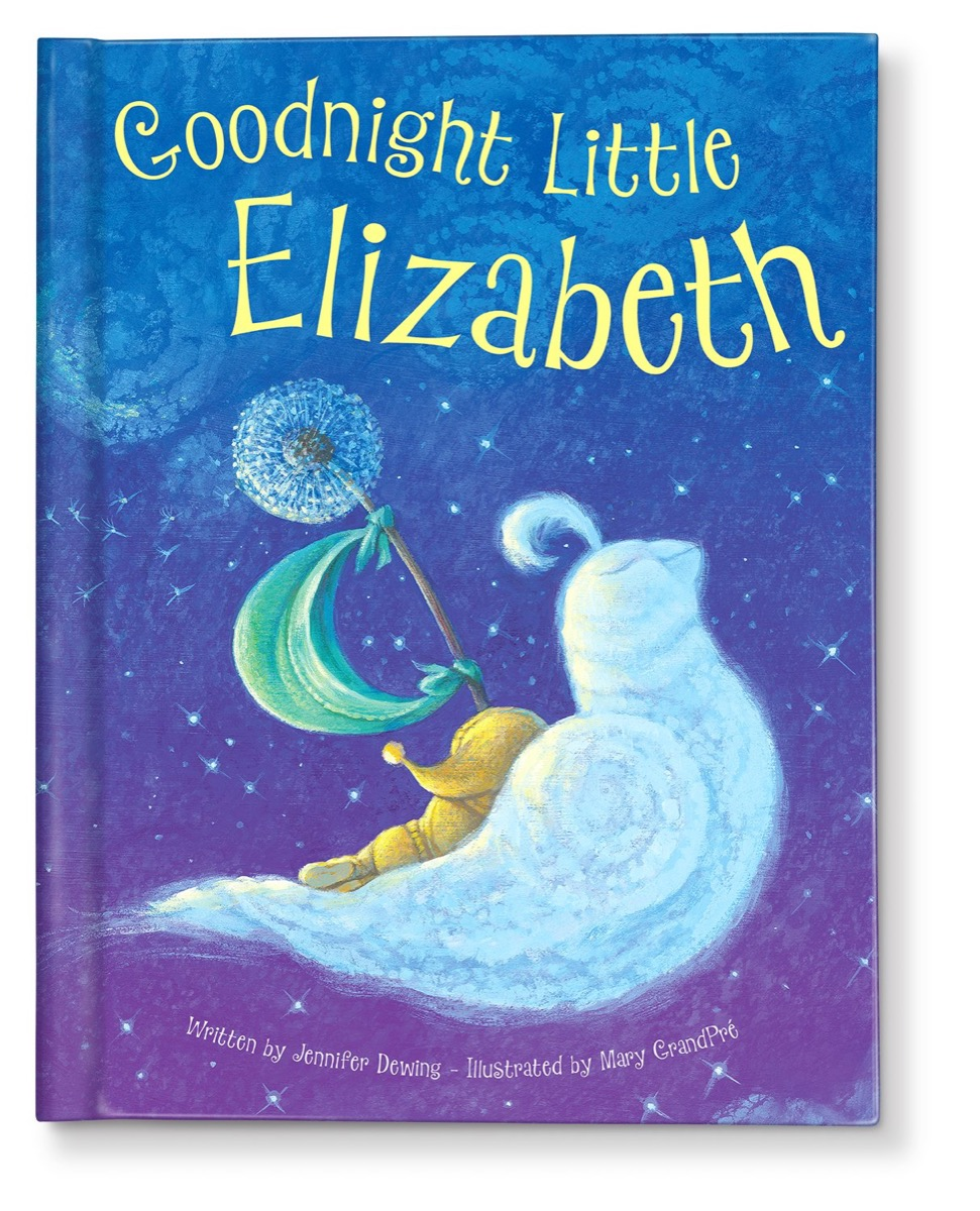 Personalized bedtime book for kids