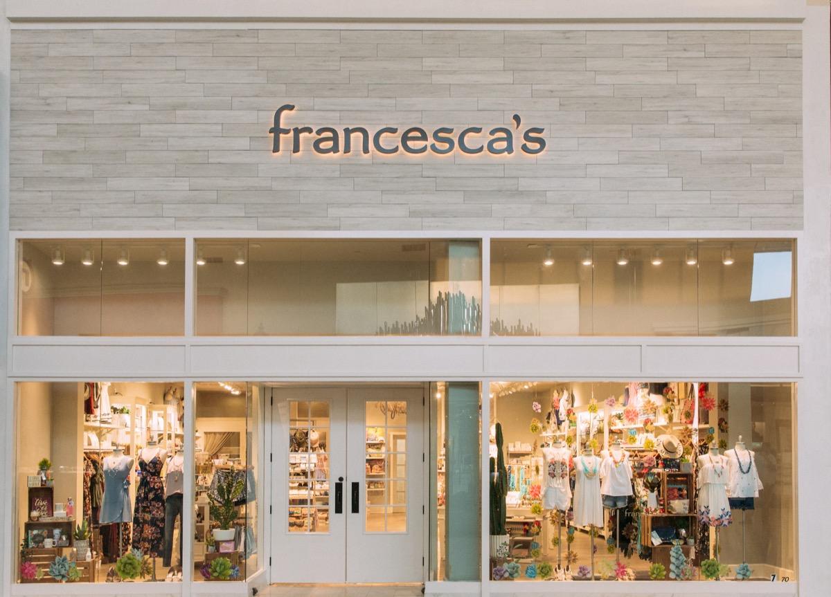 Francesca's department store