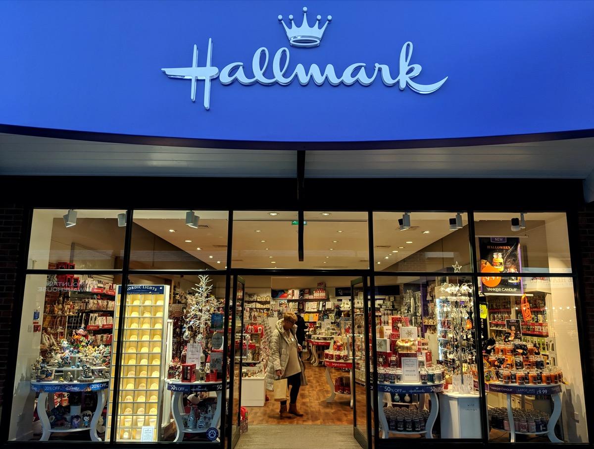 Hallmark store front
