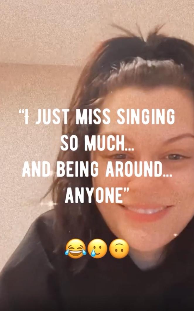 Jessie J Instagram Live 3