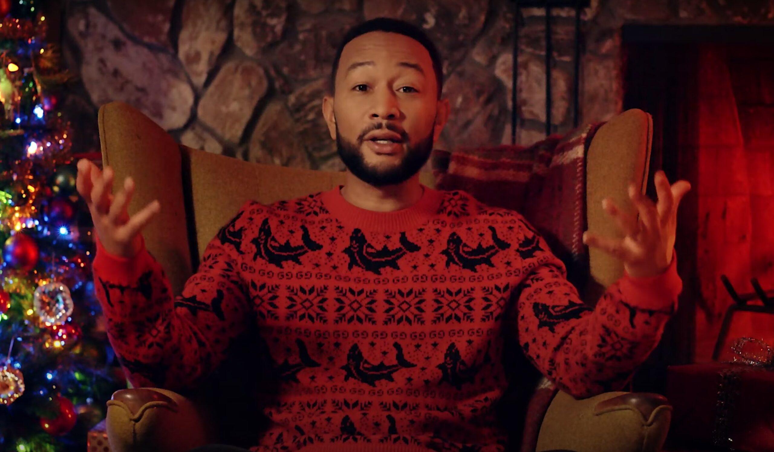 John Legend Christmas video