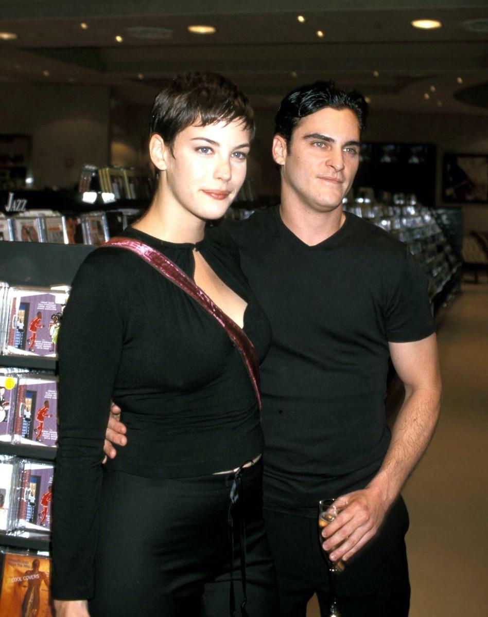 Liv Tyler and Joaquin Phoenix in 1998