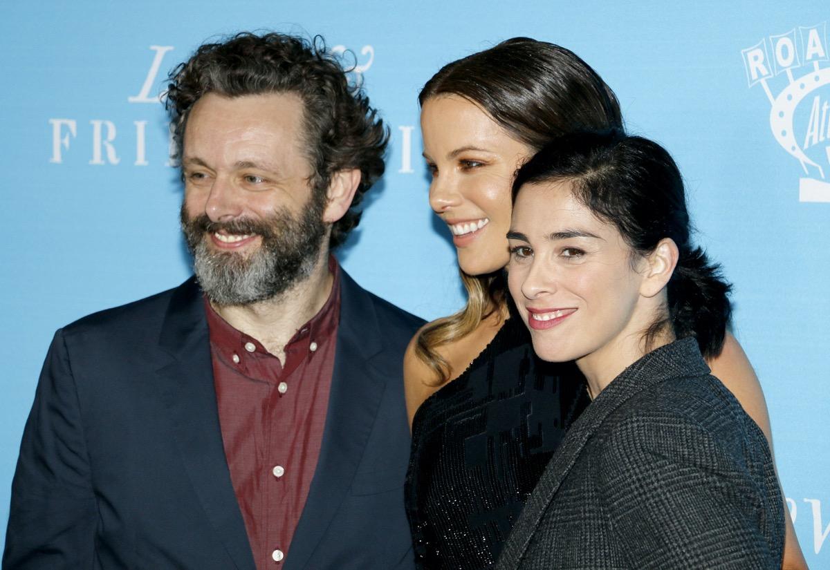 Michael Sheen, Kate Beckinsale, and Sarah Silverman