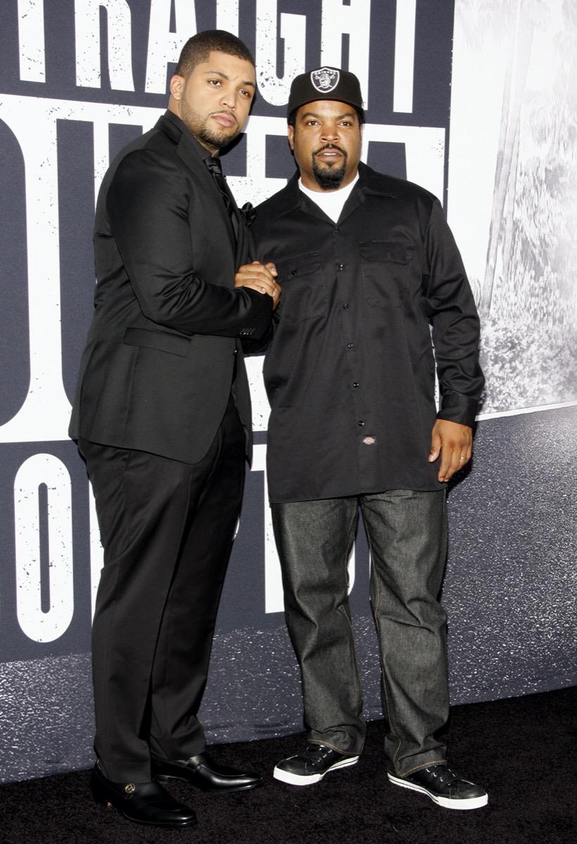 O'Shea Jackson and Ice Cube