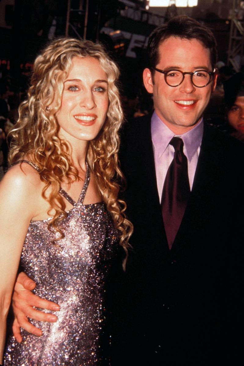 Sarah Jessica Parker and Matthew Broderick in 1998