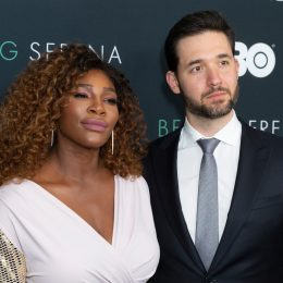 Serena Williams and Alexis Ohanian 2018