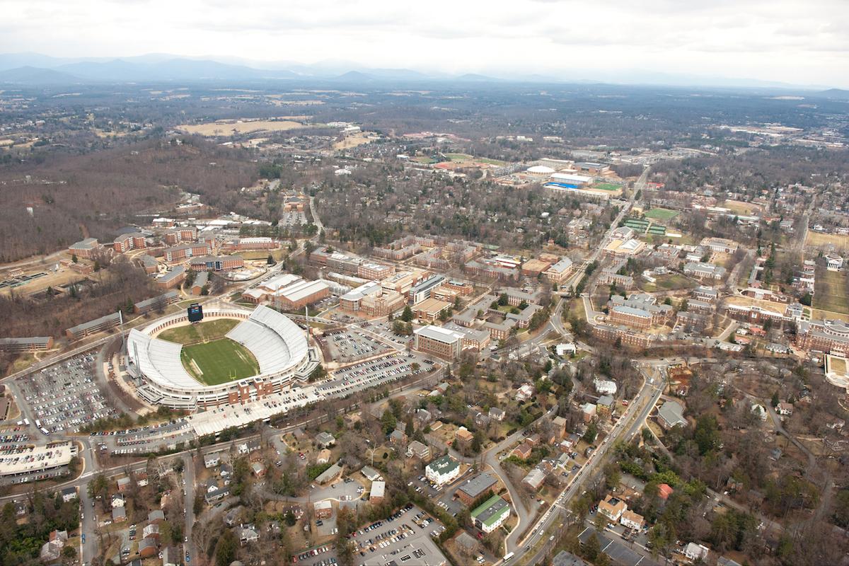 UVA campus and stadium