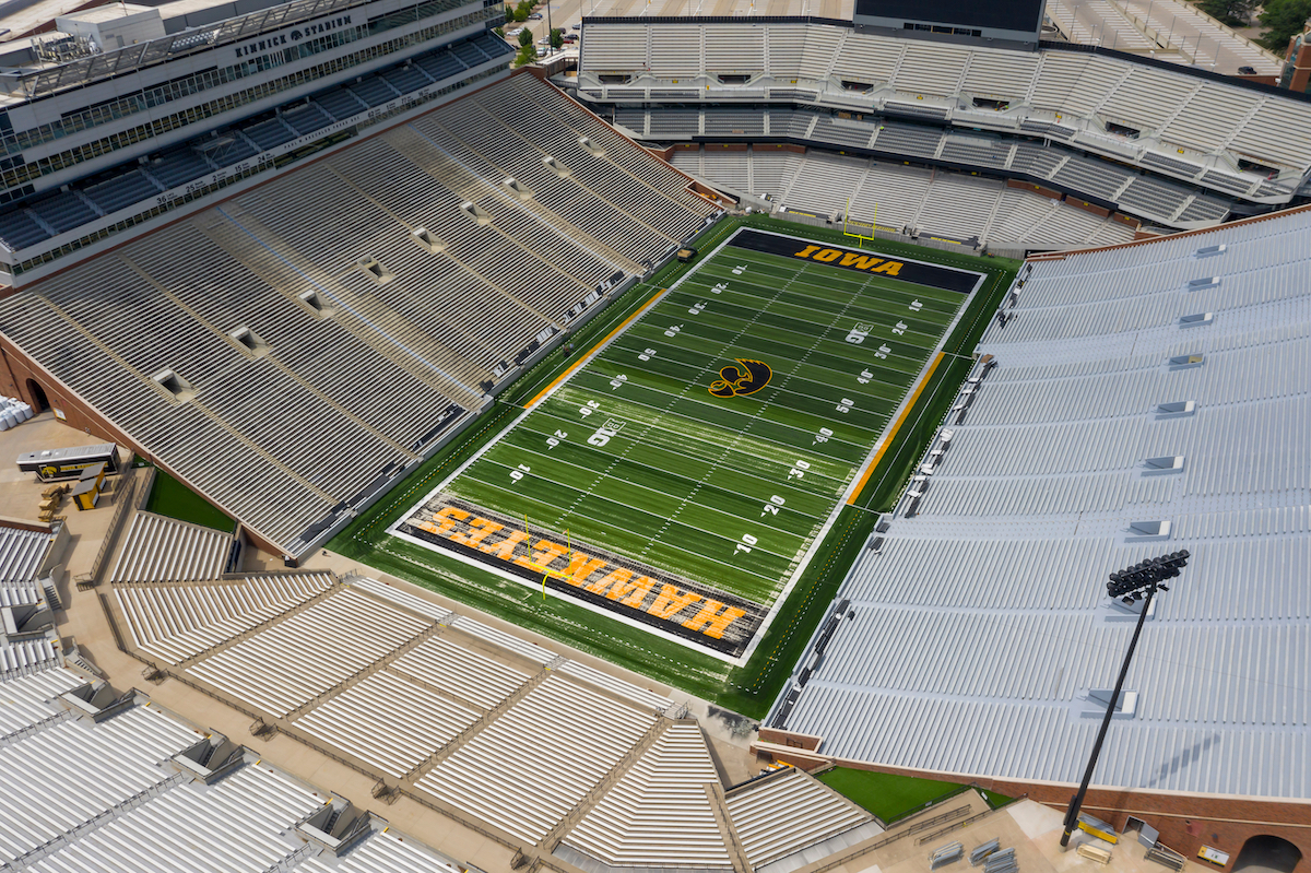 University of Iowa football stadium