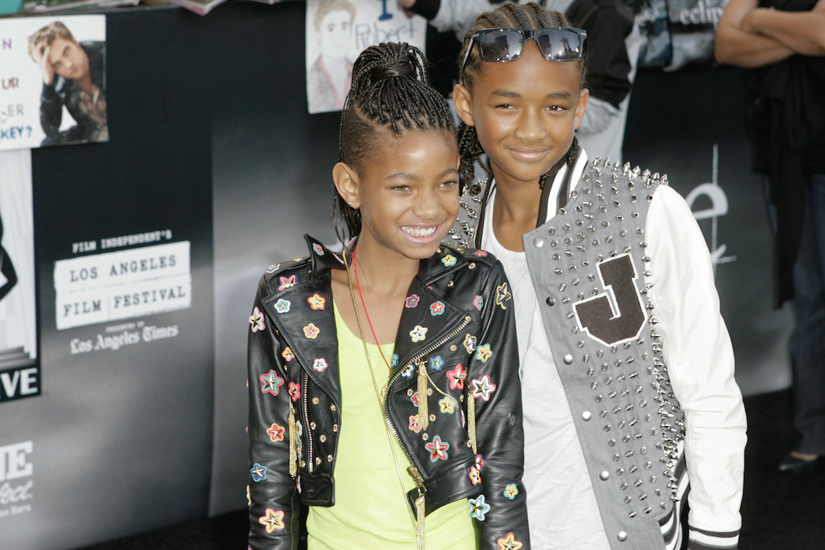 Willow and Jaden Smith 2010