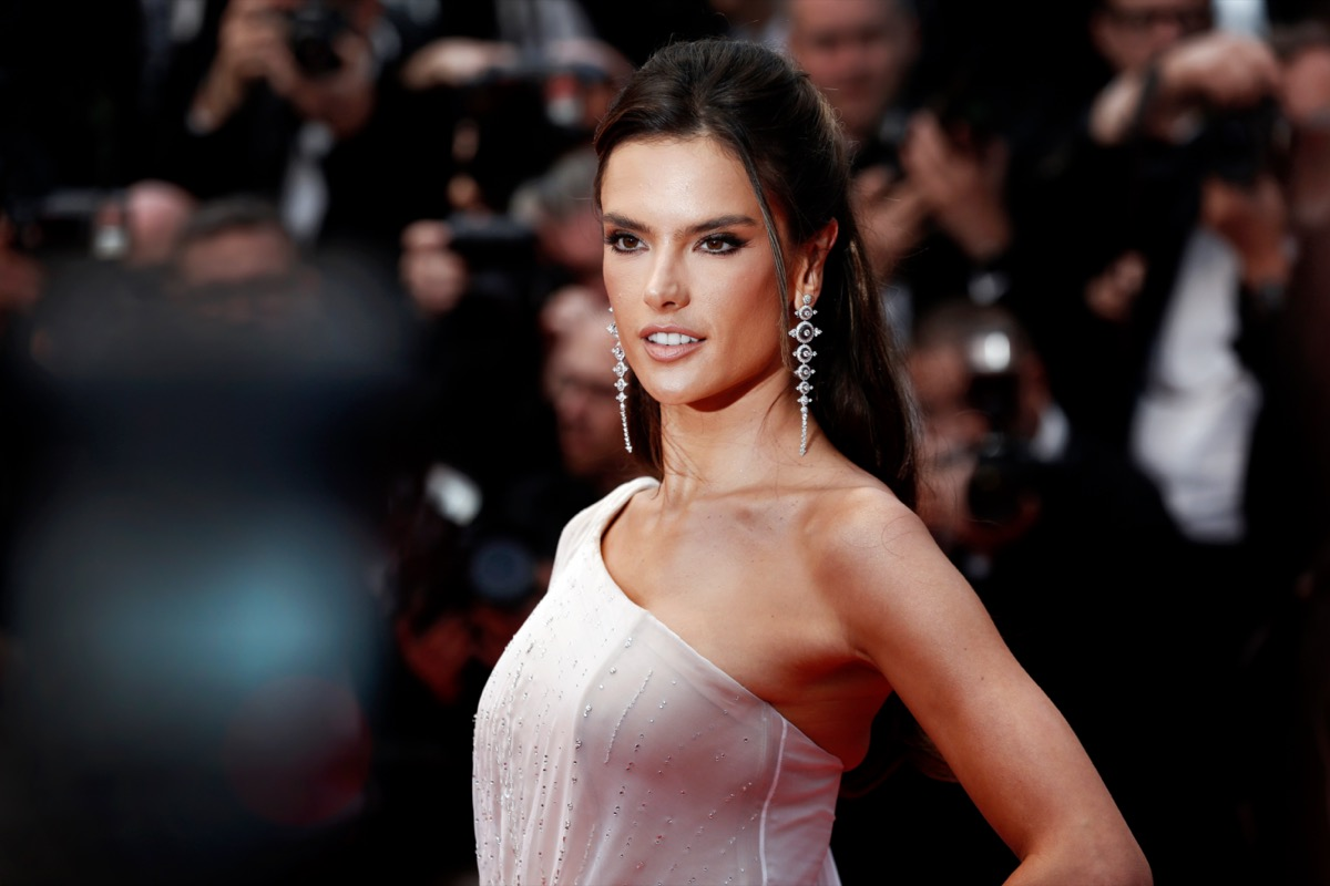 Alessandra Ambrosio at the 72nd Cannes Film Festival in 2019