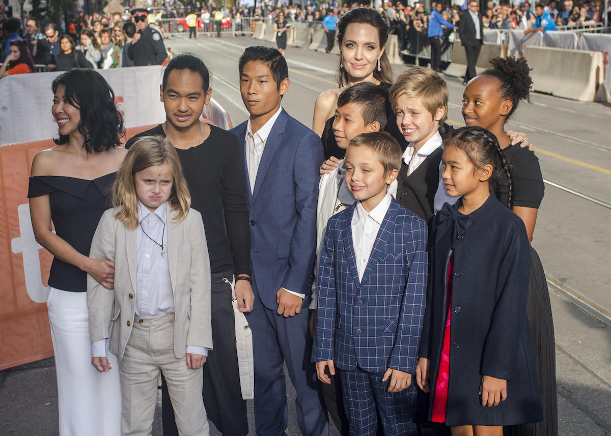 'First They Killed my Father' - Premiere Featuring: Loung Ung, Vivienne Jolie-Pitt, Maddox Jolie-Pitt, Pax Jolie-Pitt, Kimhak Mun, Knox Jolie-Pitt, Shiloh Jolie-Pitt, Angelina Jolie, Zahara Jolie-Pitt, Sareum Srey Moch