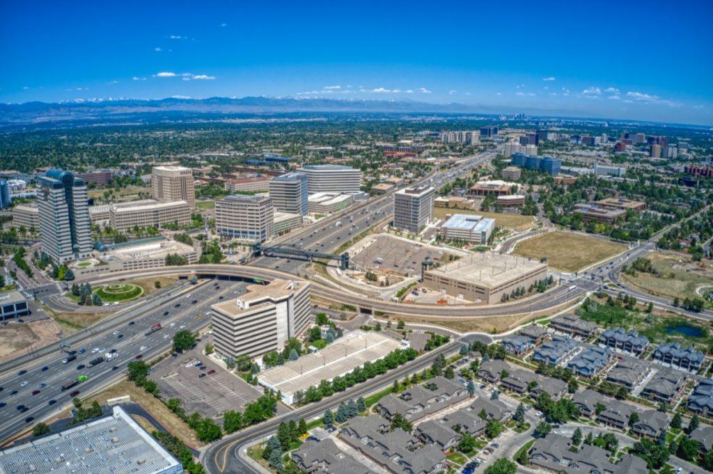 cityscape photo of Aurora, Colorado