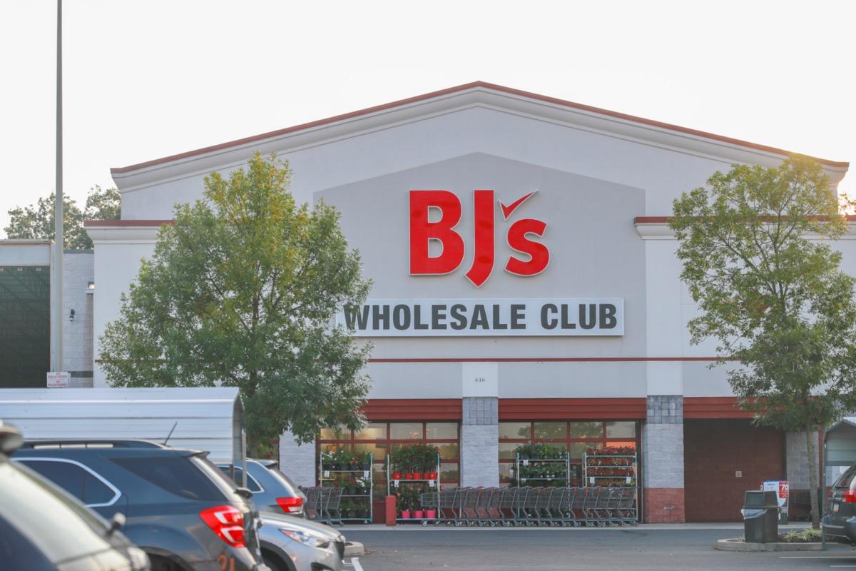 the outside of a BJ's store in Philadelphia, Pennsylvania
