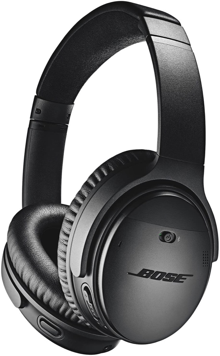 black bose headphones