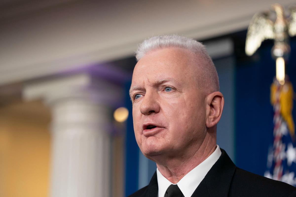 Admiral Brett Giroir, White House COVID Testing Czar