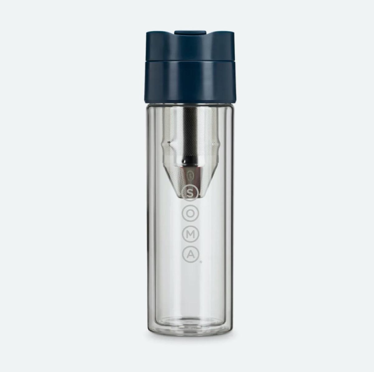 silver brew bottle