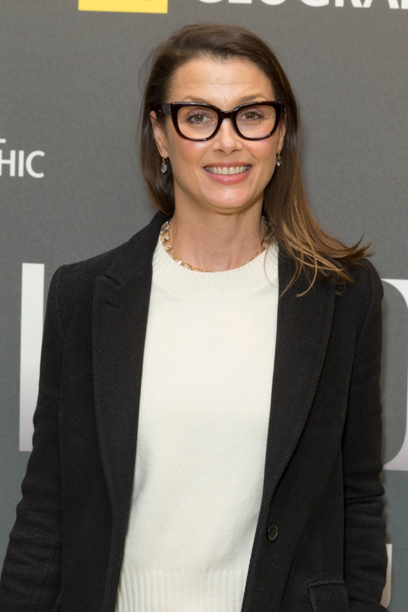 Bridget Moynahan at the National Geographic's presentation of 'America Inside Out with Katie Couric'