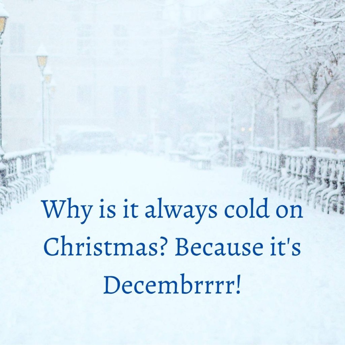 Image of a Christmas joke