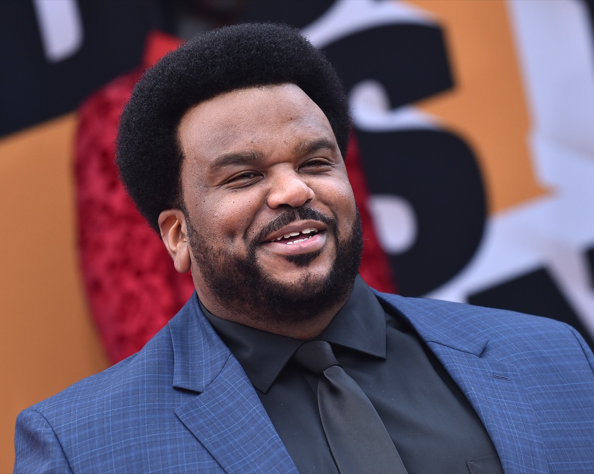 Craig Robinson at the premiere of 'Dolemite Is My Name' in 2019