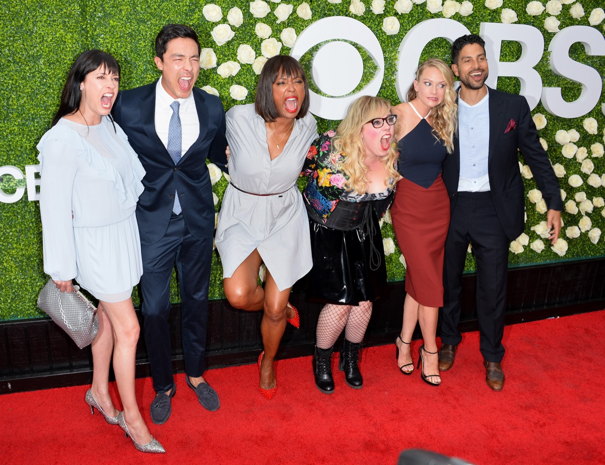 the cast of Criminal Minds at the CBS TV's Summer Soiree in 2017