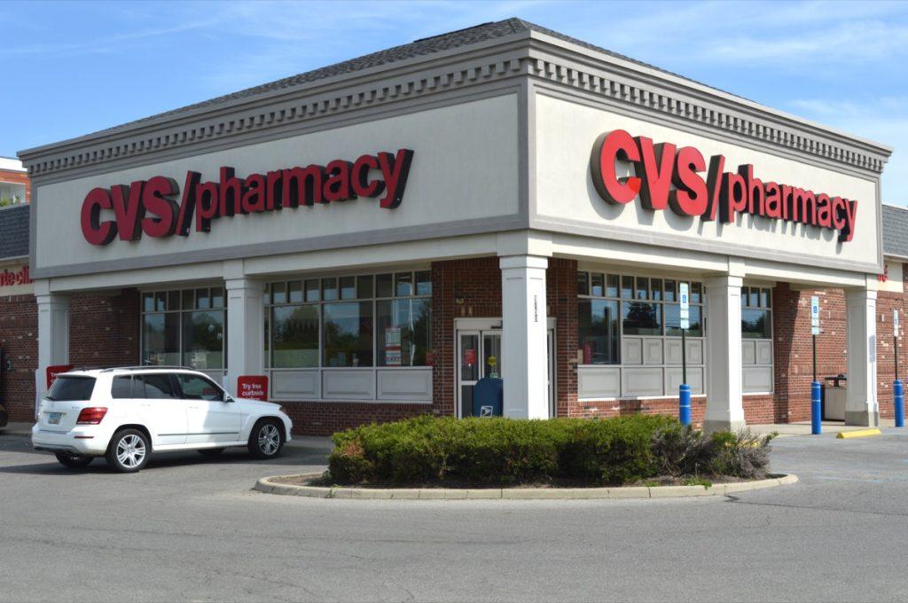 exterior of a CVS Store in Columbus, Ohio
