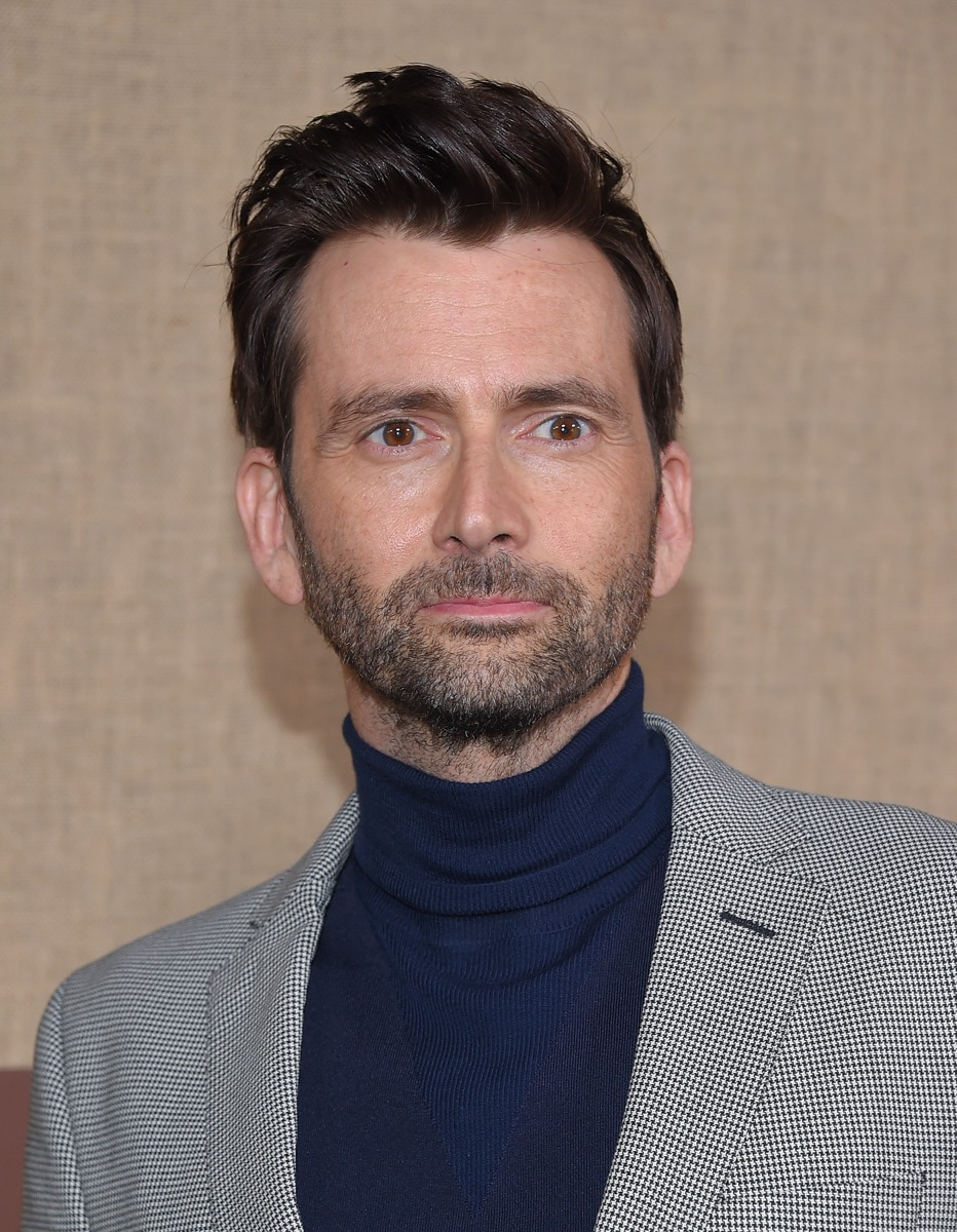 David Tennant at the premiere of 'Camping' in 2018