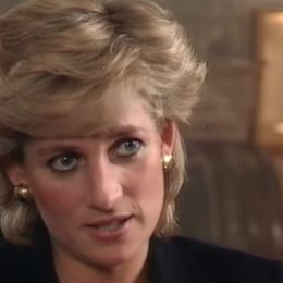 """princess diana does interview with bbc's """"panorama"""""""